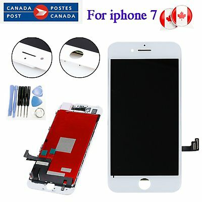 """For iPhone 7 4.7"""" LCD Display Touch Screen Digitizer Assembly Replacement White"""