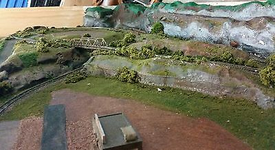 N Scale Layout Trainset 2600 x 1350 HUGE Almost Complete Railway Track Points