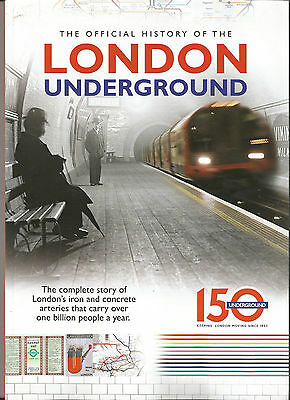OFFICIAL HISTORY OF THE LONDON UNDERGROUND # 150th ANNIVERSARY MAG # MAPS ETC