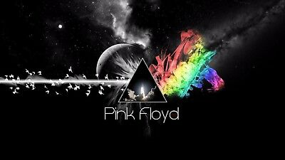 Pink Floyd The Dark Side of the Moon 1973 Album Cover Canvas Art Poster Print CD