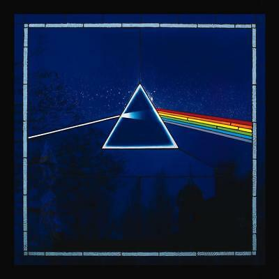 Pink Floyd The Dark Side of the Moon 1973 Album Cover Canvas Art Poster Print