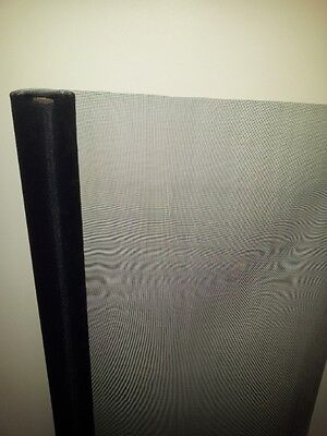 Aluminium fly screen mesh Black painted