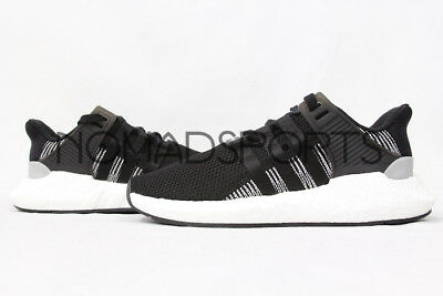 """Adidas Eqt Support 93/17 """"black White"""" By9509 Mens Sizes"""