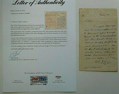 John F Kennedy Brother Joseph  Signed W Notes In His Hand Choate Scrapbook  1932