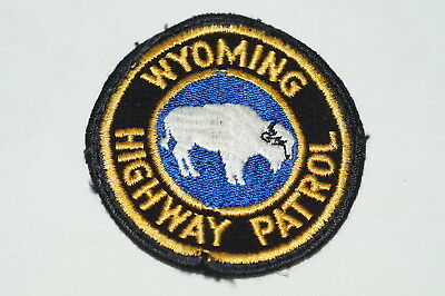 US Highway Patrol Wyoming Police Patch 3