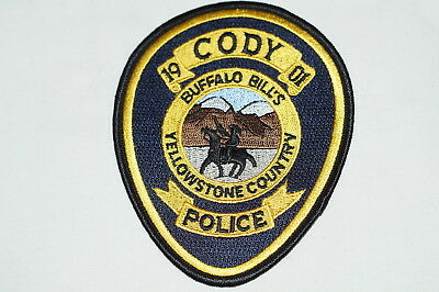 US Cody Yellowstone Country Wyoming Police Patch