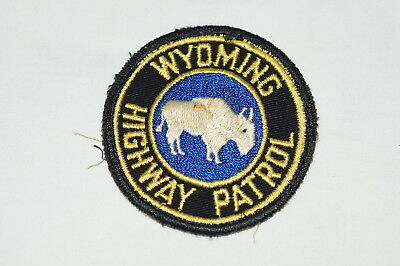 US Highway Patrol Wyoming Police Patch 2
