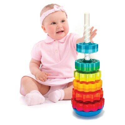Spin Again - Baby Stacker Stacking Tower Toy Infant Developmental Toy