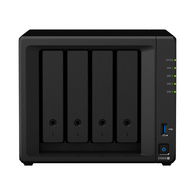 Synology DiskStation DS918+ 4 Bays NAS + 40TB (4x Seagate 10TB ST10000VN0004)