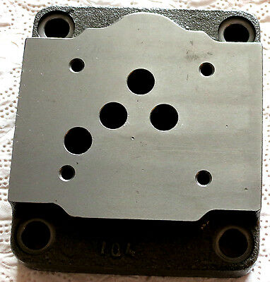 Hydraulic Baseplate 1 Professionally Connection Plate Without DBV, NG 10/PT