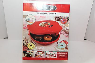 Bella Bite Size Mini Donut Maker With Recipes Included