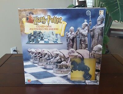 Harry Potter Wizard Chess - New in Open Box - 2002 Mattel