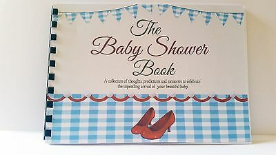 Baby Shower Book Wizard of Oz, Guest Predictions, Gifts, Memories