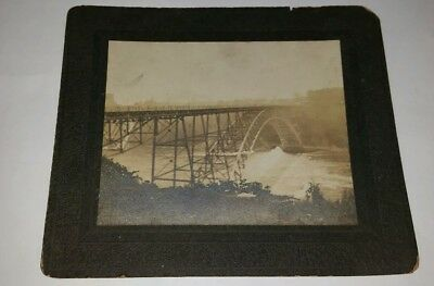 Old Photo of an Old Bridge