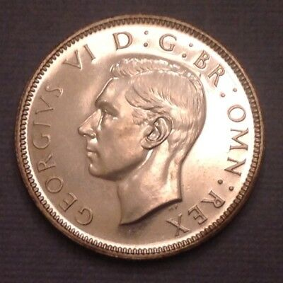 - 1937 Great Britain George VI Silver Coronation Florin -   Proof