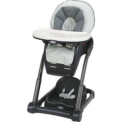 Graco Blossom 4-in-1 Convertible High Chair, McKinley