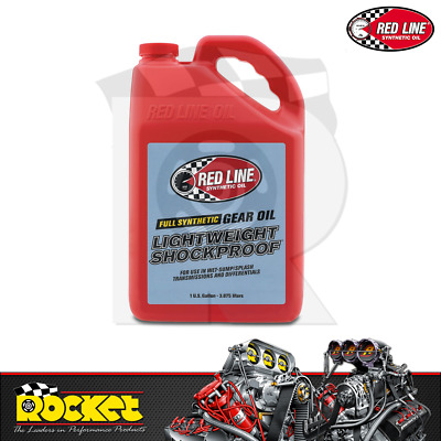 Redline Lightweight Shock Proof Gear Oil 1 Gallon (3.78L) - RED58405