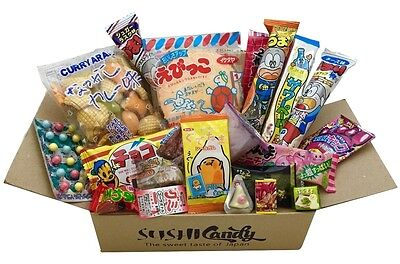 Japanese Candy gift box 20 pc SURPRISE set japanese food snack sweet chocolate
