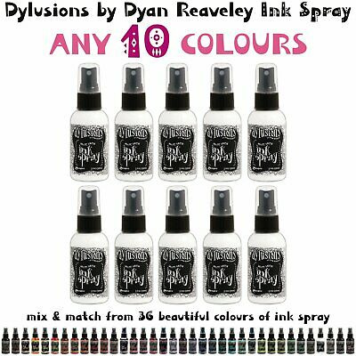 Dylusions Ink Spray - 10 Colours - Choose Your Own