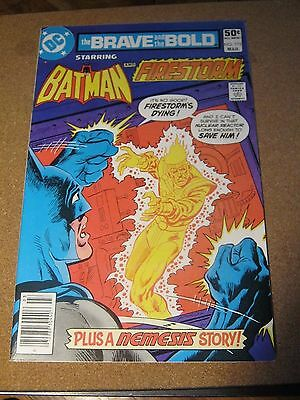 Brave and the Bold #172 March 1981 Batman and Firestom - DC
