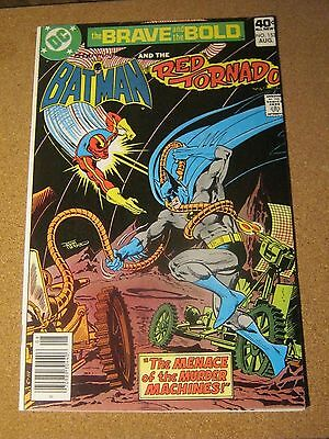 Brave and the Bold #153 DC August 1979 Batman and The Red Tornado