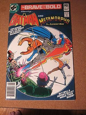 Brave and the Bold #154 DC September 1979 Batman and Metamorpho the Element Man