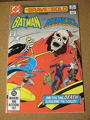 Brave and the Bold #193 December 1982 Batman and Nemesis