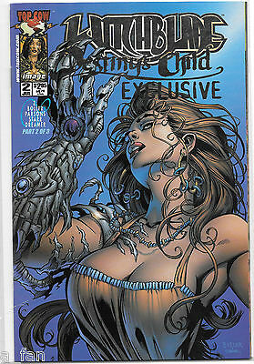 Witchblade:  Destiny's Child #  2 Platinum Edition only 750 copies Top Cow