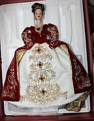 Faberge Imperial Splendor Porcelain Barbie Doll 2000 Limited Edition 01528