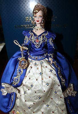 Faberge Imperial Elegance Porcelain Barbie Doll 1998 Limited Edition with COA