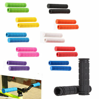 BMX MTB Cycling Mountain Bicycle Scooter Bike Soft Handle Bar Rubber End Grip