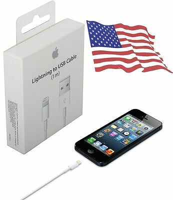 1X OEM Original Genuine Apple iPhone 6 6S Plus 5C Lightning USB Cable Charger
