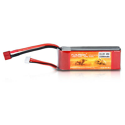 3S Lipo Battery Pack 11.1V 2200mAh 25C Deans Plug For RC Hubschrauber Flugzeug