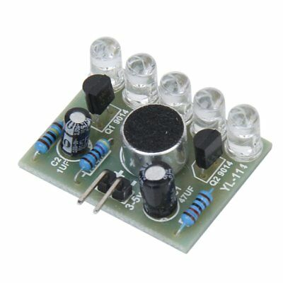 New 3-5.5V Sound Activated LED Melody Light Lamp Module Electronic DIY Y7L6