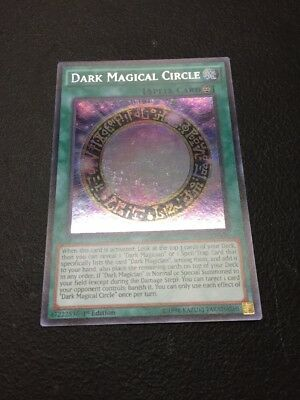 Dark magical Circle - MP17 EN100 - Secret Rare - FREE SHIPPING
