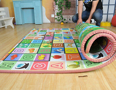 20mm Two-sided Waterproof Baby Crawl Play Mat Kids Foam Puzzle Blanket Picnic