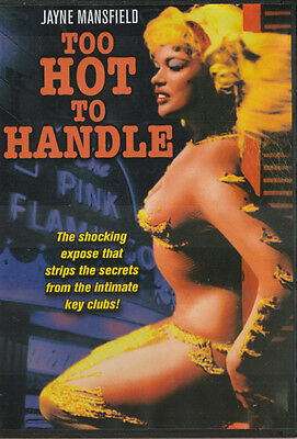 Jayne Mansfield TOO HOT HANDLED New/Unsealed ALL Regions (Plays on any Player)