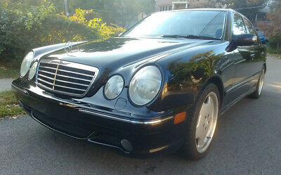 2001 Mercedes-Benz E-Class AMG W210 E55 AMG Good Condition Well maintained Great drivers car! Must see