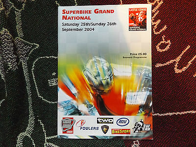 2004 Castle Combe Programme 26/9/04 - Superbike Grand National
