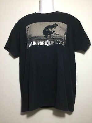 Linkin Park Chester Bennington 2013 Meteora Album Tour Official T Shirt Size L