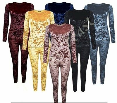 New Girls Velvet Top Joggers Loungewear Children Kids Tracksuit Bottom Age 2-13