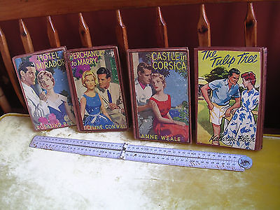 4 Rare First Edition  Mills & Boon  H/c Books All Ex Pay-Libraries In Victoria