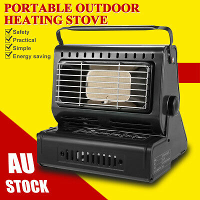 Portable Butane Gas Heater Camping Camp Tent Hiking Outdoor Camper Companion