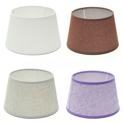 """8"""" Cotton Textured Lampshade Ceiling Light Pendant Table Drum Lamp Shade"""