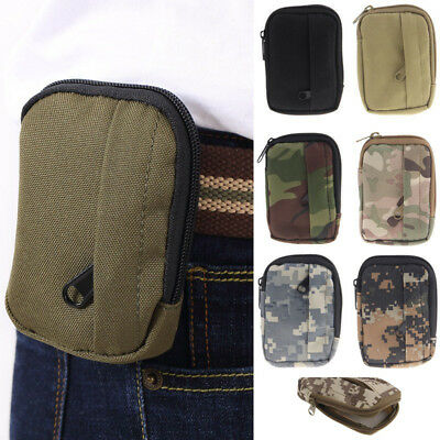 Military Mini Waist Pack Molle Army Coin Purses Utility Outdoor Sports Pouch Bag