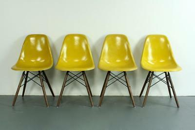 VINTAGE EAMES CHAIRS HERMAN MILLER 50s 60s MIDCENTURY SLIGHT IMPERFECTIONS #2038