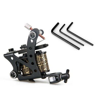 Tattoo Machine Professional nero con 3 tasti W5T7
