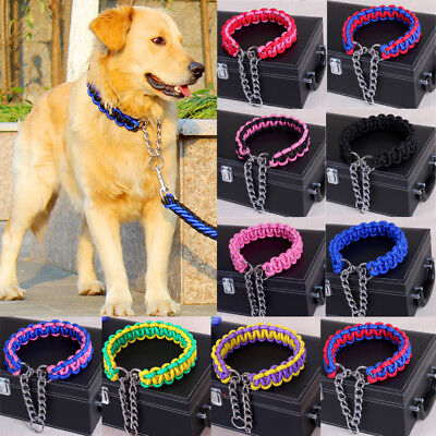 Dog Large Bite Puppy / Big Dog Collar and Lead Sets Set Fully Adjustable NEW