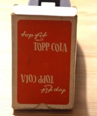Rar! 50er Jahre  Original Top Fit mit TOPP Cola Kartenspiel ASS Skat