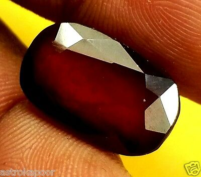 9.02 CT AFRICAN HESSONITE 100% Natural GIE Certified AAA+ TOP Quality Gemstone